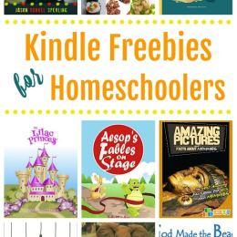 16 Free Kindle Books for Homeschool Families!