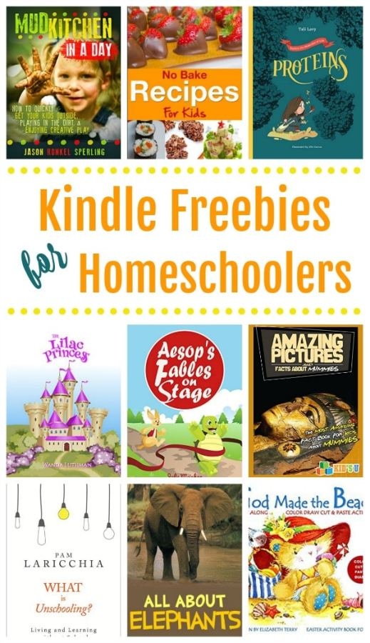 16 Free Kindle Books for Homeschool Families!