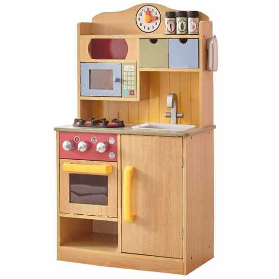 Little Chef Wooden Play Kitchen Only $66.68! (Reg. $169)