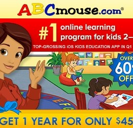 ABC Mouse 1 Year Membership Only $45 – Limited Time! (63% Off!)
