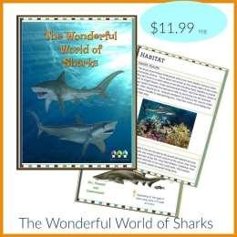 Free Shark Workbook ($12 Value!)