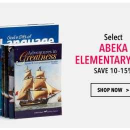 Abeka Elementary Curriculum Kit Sale – 10-15% Off!