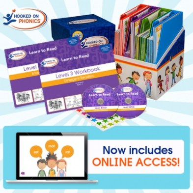 50% Off Hooked on Phonics Learn to Read Kit + Free Shipping!