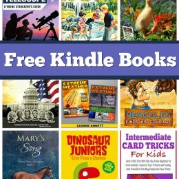 Free Kindle Books: Happy Hollisters, Preschool Workbook, Card Tricks, & More!