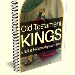 Free Old Testament Kings Notebooking Pages