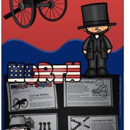 Free Civil War Mini Book Printables