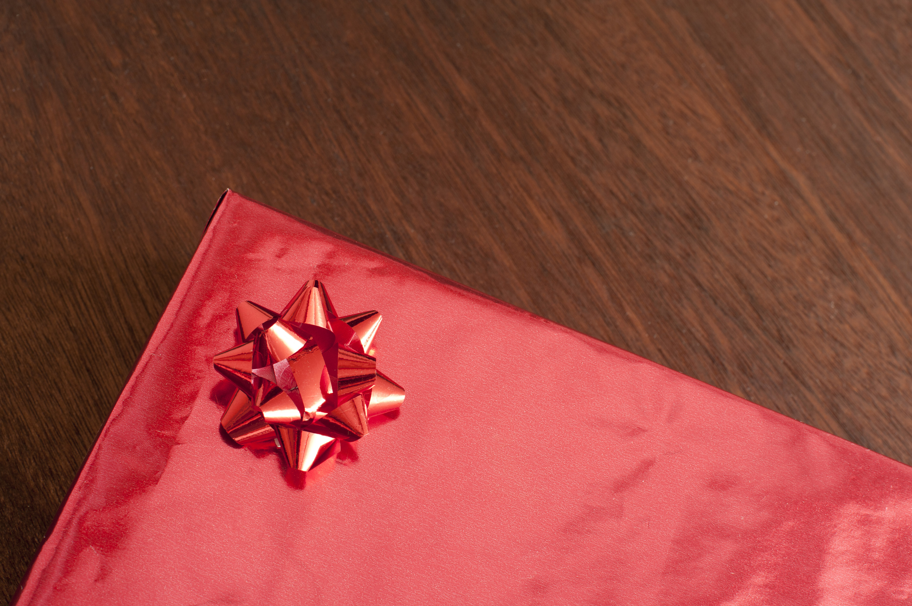 Free Stock Photo 13495 Gift Wrapped Box Freeimageslive