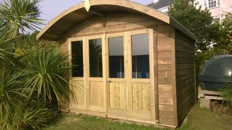 Building Garden Shed