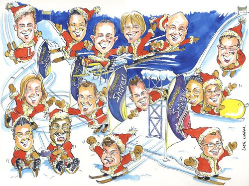 Caricatures By Luke Warm Caricaturist In Hartland