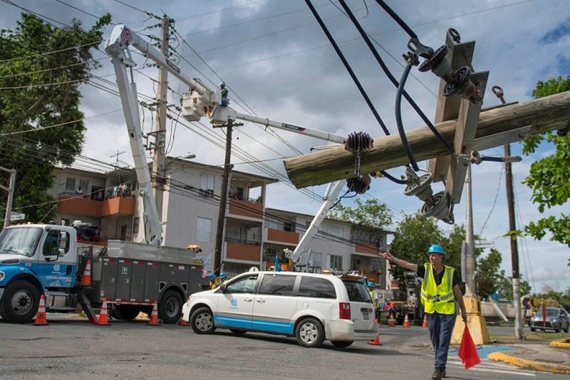 Rebuilding Puerto Rico's power grid