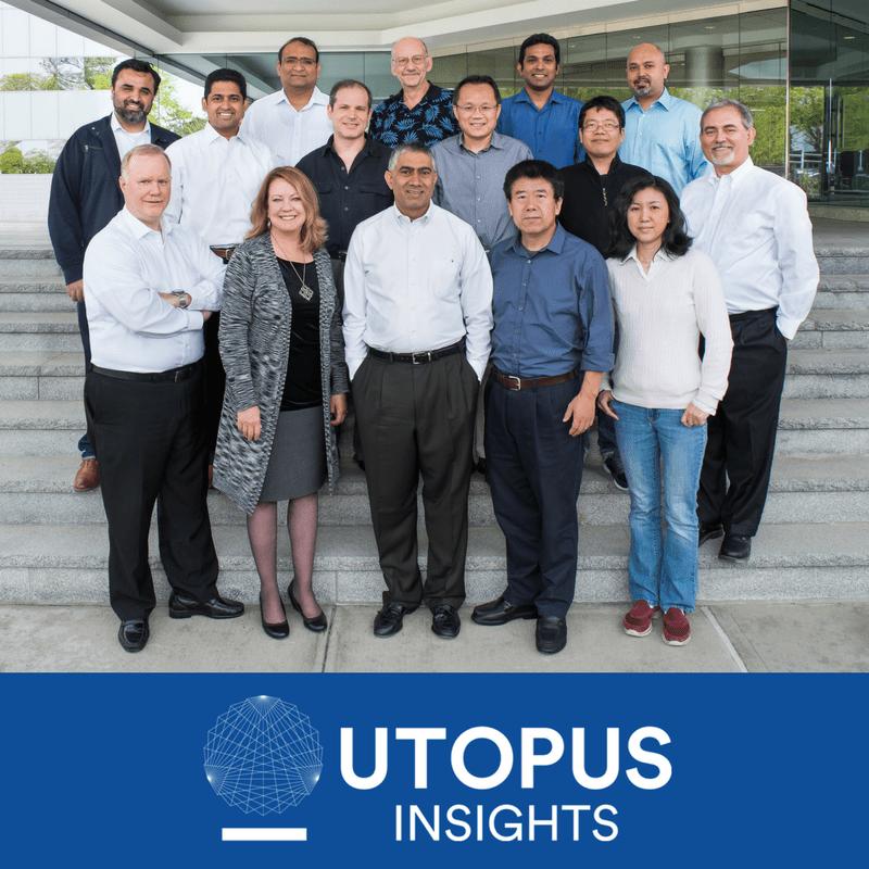 Chandu Visweswariah and the Utopus Insights staff