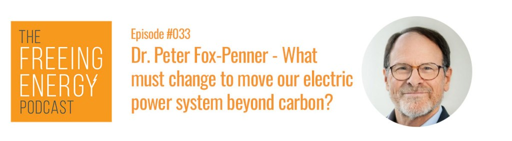 Podcast Peter Fox Penner Beyond Carbon Book