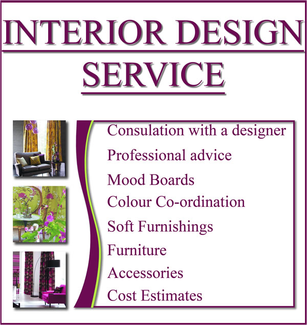 hourly rate for interior design services
