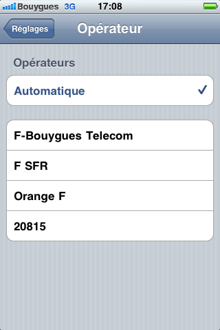 reseau free mobile