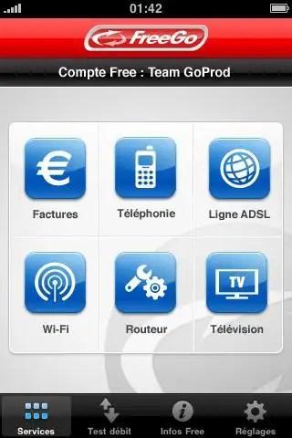 freego gratuit iphone