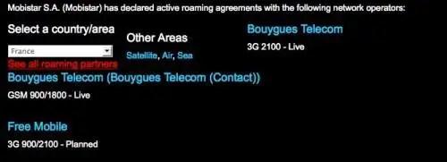 roaming free mobile
