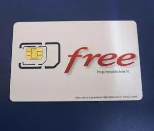 2 Cartes Sim Free Mobile Valides Pour Un Meme Numero