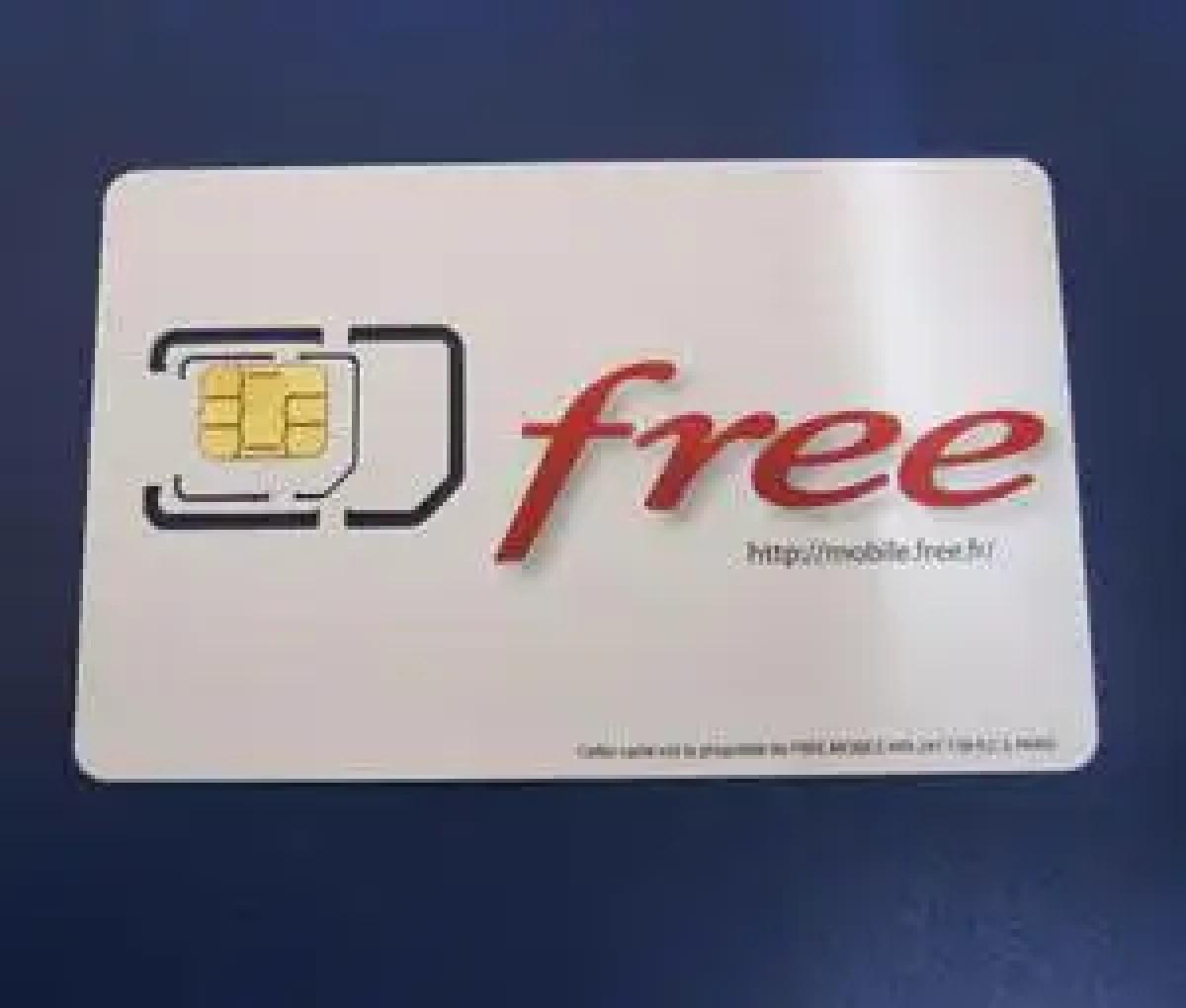 format carte sim free 2 cartes SIM Free Mobile valides pour un même numéro ?