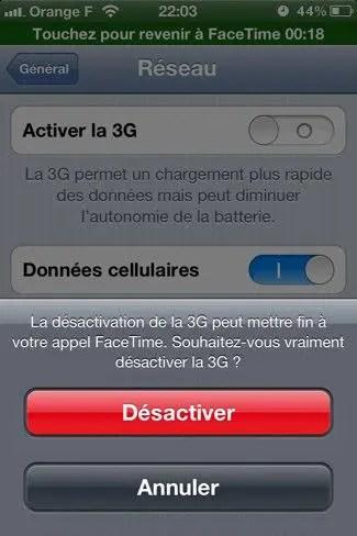 3G-facetime
