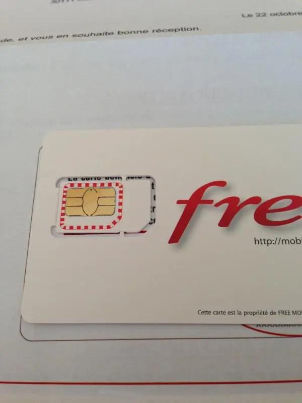 Carte Sim Free.Carte Sim Free Mobile Nouvelle Version Avec Aide Au