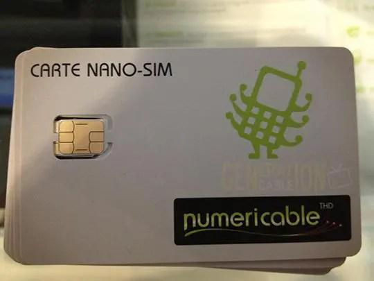 Nano SIM Numericable, enfin ! - Free Mobile iPhone