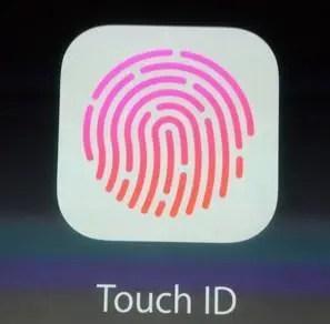 touchId