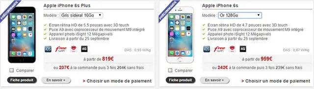 iPhone6S-free-mobile-prix