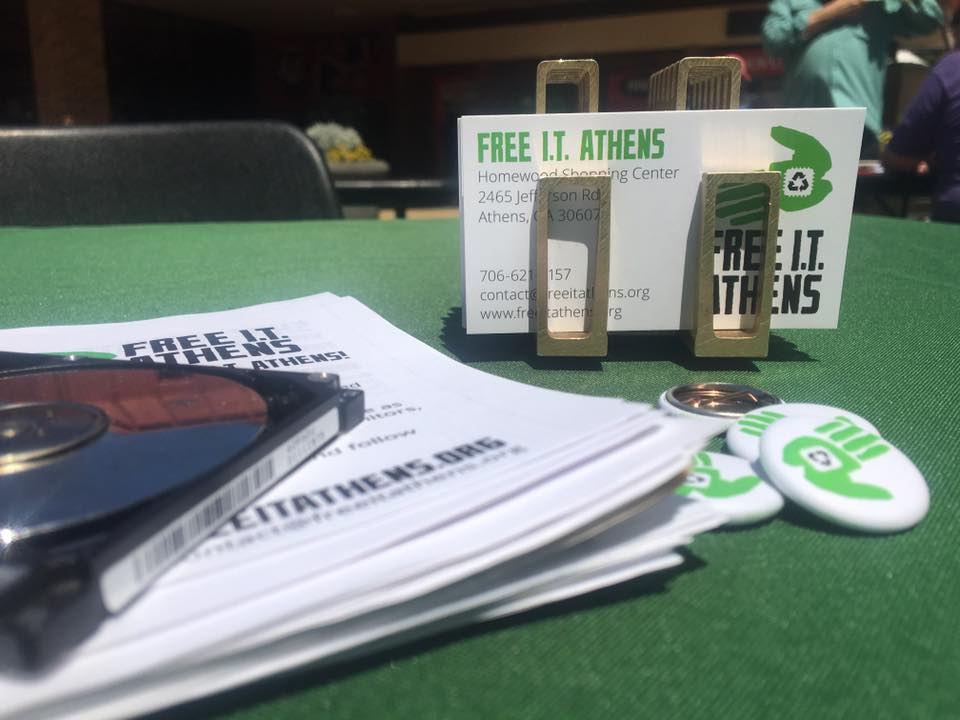 promotional free i.t. athens materials