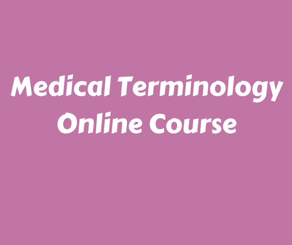 Medical Terminology Online Course For Free