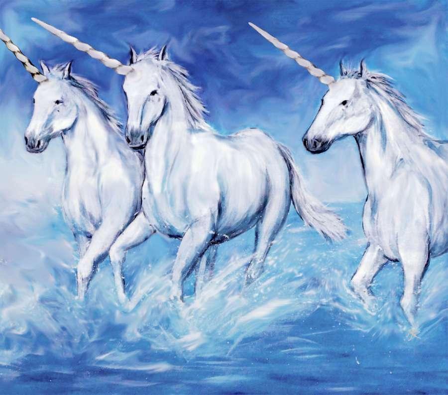 Na moda do unicórnio, lançamos uma publicação com 22 atividades unicórnio para fazer com as crianças. 🥇 Imagen de Pintura al oleo de unicornios - 【FOTO GRATIS