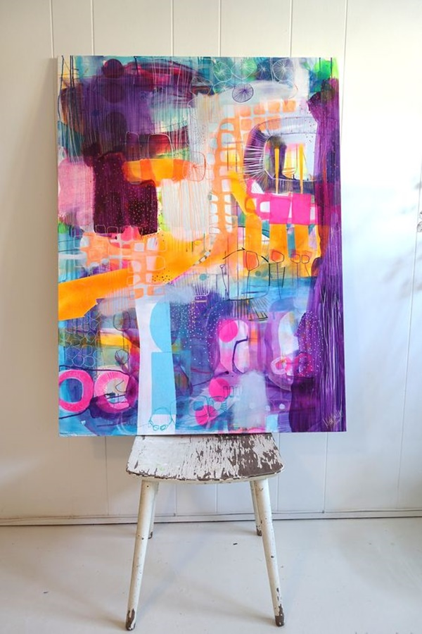 40 Elegant Abstract Painting Ideas For Inspiration on Modern Painting Ideas  id=66914