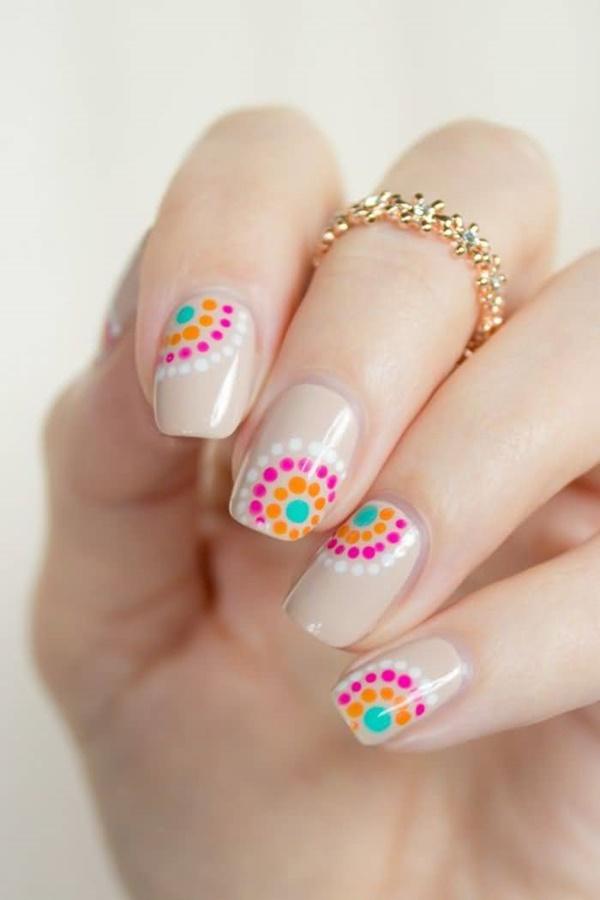 Diy Flower Nail Art Designs 6