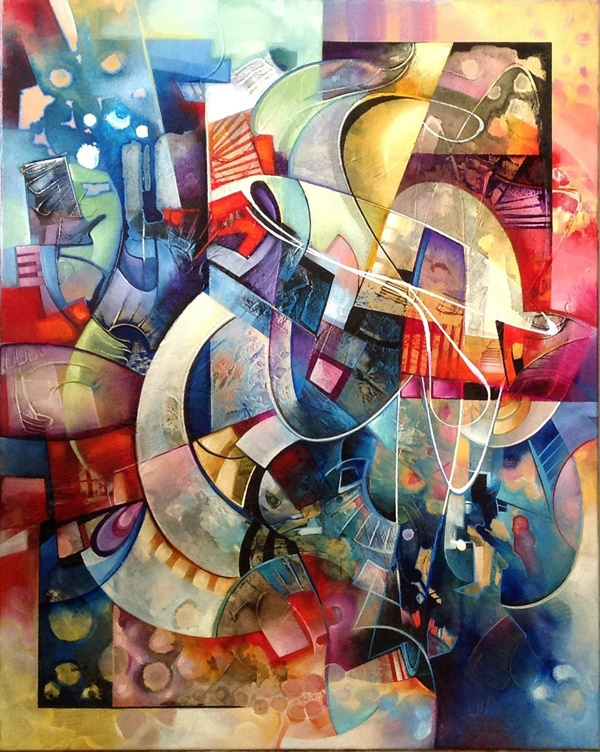 40 More Abstract Painting Ideas For Beginners on Modern Painting Ideas  id=76506