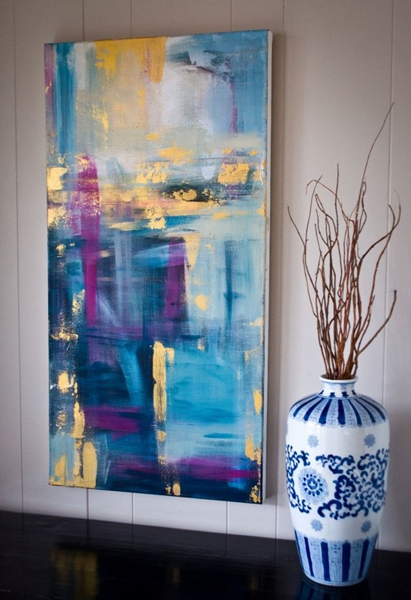 40 More Abstract Painting Ideas For Beginners on Modern Painting Ideas  id=92349