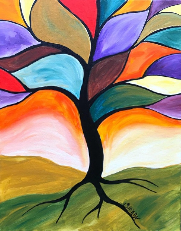 20 Amazing Tree Painting Ideas For Your Inspiration on Modern Painting Ideas  id=80903