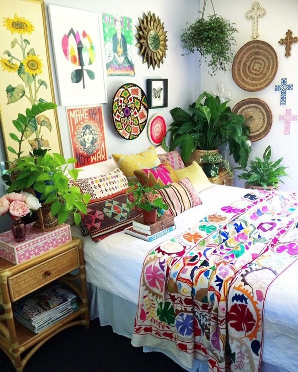 10 Modern Bohemian Bedroom Inspiration Ideas on Modern Bohemian Bedroom Decor  id=39763