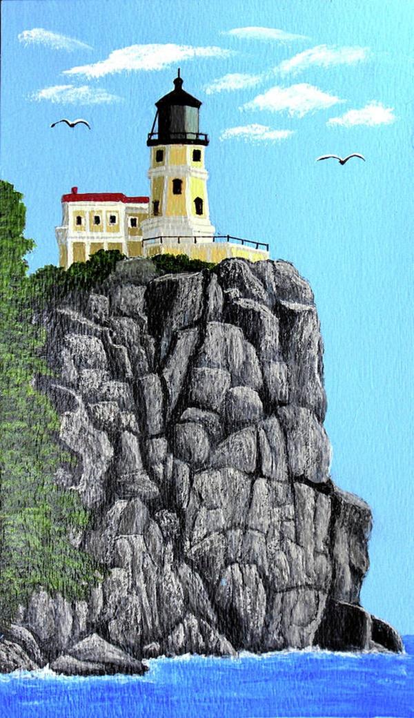 Painting Rocks Garden