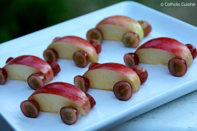 Apple Car Snacks