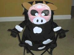 Cow Picnic Chair