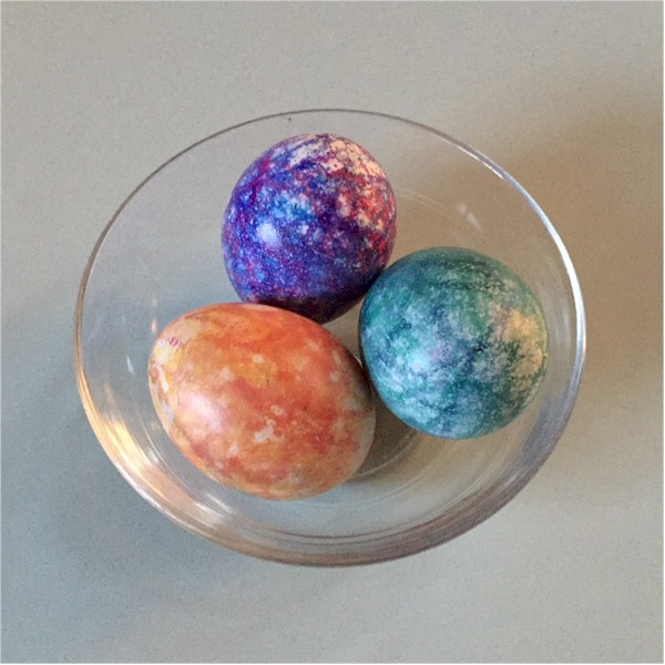 Ink Jet Decorated Easter Eggs