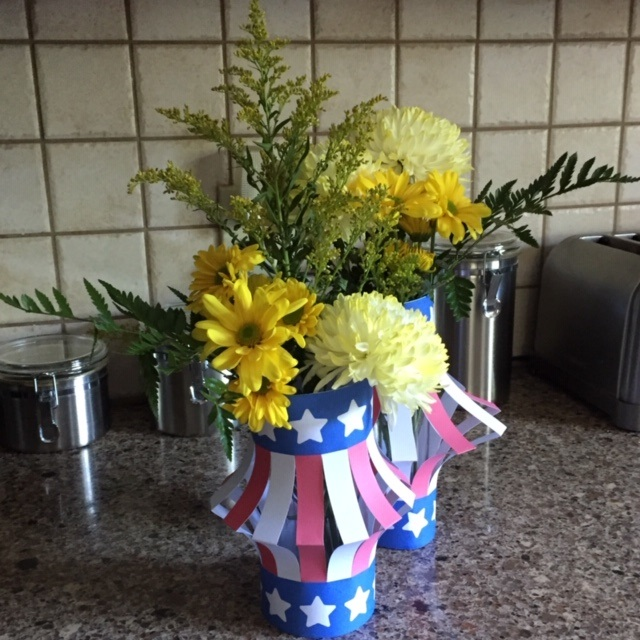 Image of DIY July 4th Centerpiece