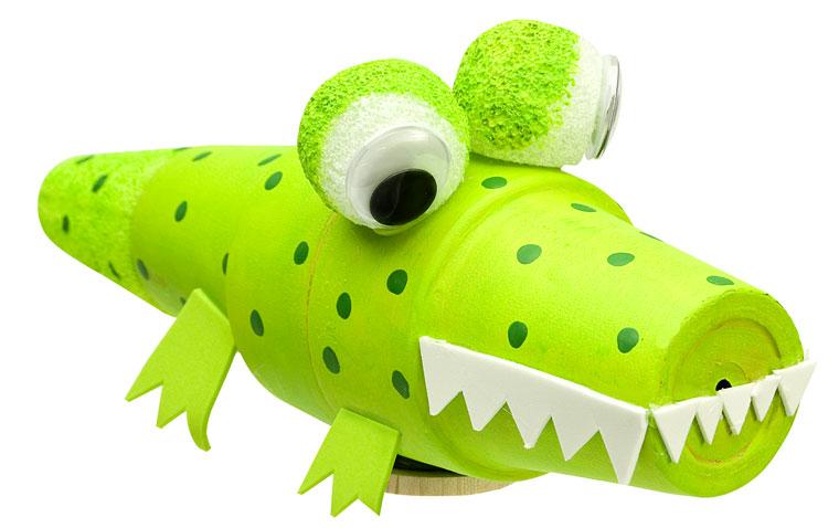 Image of Potted Alligator