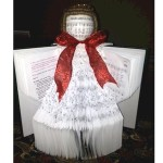 Image of Folded Christmas Angel Craft