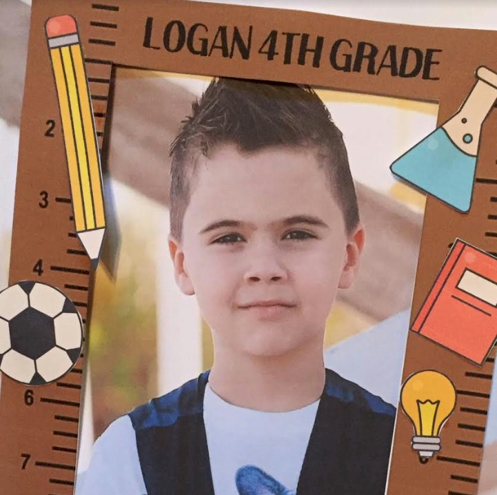 Image of Back To School Photo Frame