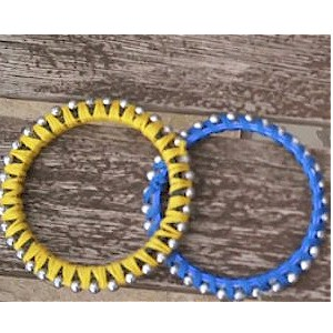 Make A Beaded Bangle Bracelet