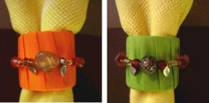 Image of Fall Napkin Rings
