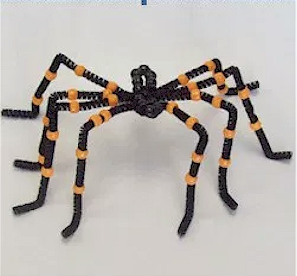 Beaded Halloween Spider Pattern