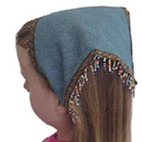 Image of Easy Beaded Kerchief