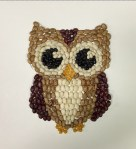 Image of Scrap Fabric Owl