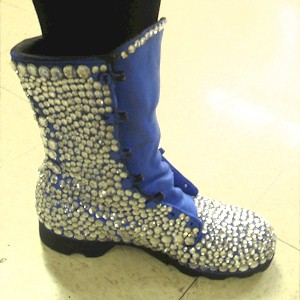 Upcycled Bejeweled Boot Craft